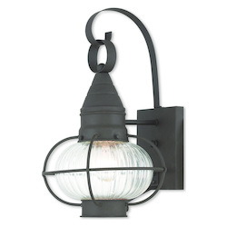 Newburyport Bronze Wall Lantern