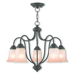 Convertible Dinette Chandelier/Ceiling Mount