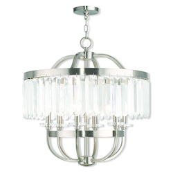Ashton Brushed Nickel Chandelier