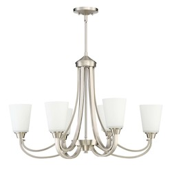 6 Light Linear Chandelier