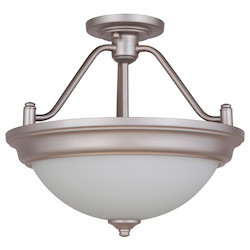 2 Light Convertible Semi Flush