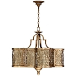 French Damask 6-Light 28