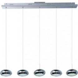 Dial 5-Light Led Linear Pendant - ET2 E22555-PC