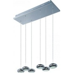 Dial 6-Light Led Pendant - ET2 E22556-PC