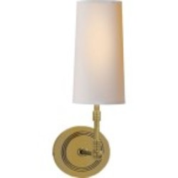 Collection 1 Light Decorative Wall Light in Antique Bronze