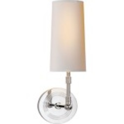 Collection 1 Light Polished Wall Sconce