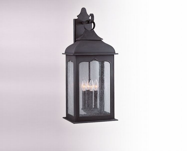 Henry Street Collection 4 Light 26 Colonial Iron Outdoor