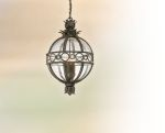 "Campanile Collection 3-Light 13"" Campanile Bronze Outdoor Ceiling Lantern F5008CB"