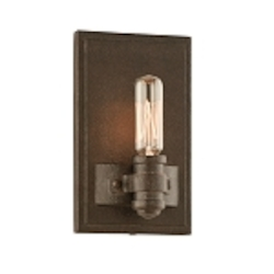 "Pike Place Collection 1-Light 7"" Shipyard Bronze Wall Sconce B3121"