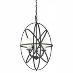 Bronze Aranya 3 Light Pendant