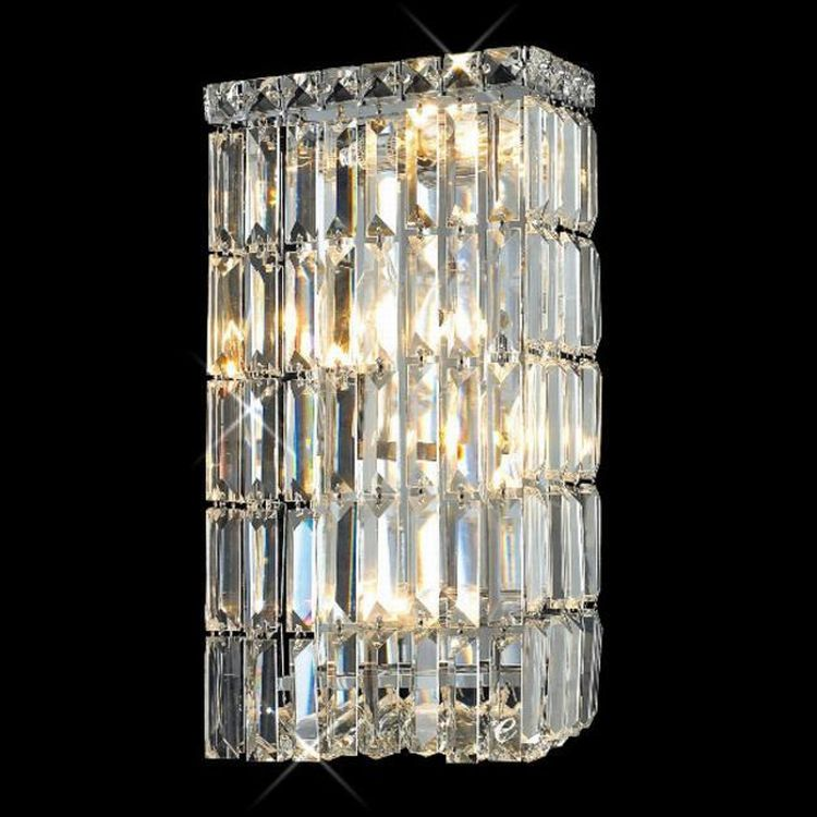 Crystal Vanity Lights For Bathroom : Maxim Collection 4-Light 8