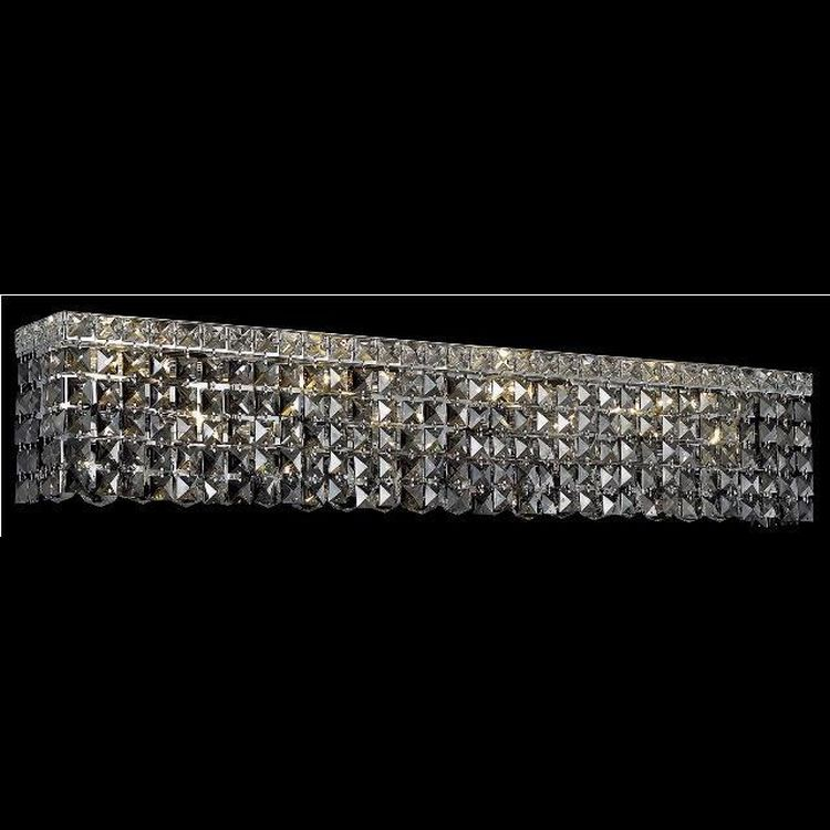Chrome Crystal Vanity Lights : Maxim Collection 8-Light 36
