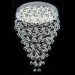"Galaxy Collection 12-Light 28"" Chrome Chandelier with Clear  Swarovski Strass Crystal 2006D28C/SS"