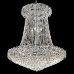 "Belenus Collection 22-Light 36"" Chrome Chandelier with Clear Swarovski Spectra Crystal ECA1G36SC/SA"
