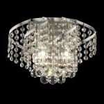 "Belenus Collection 2-Light 12"" Chrome Wall Sconce with Clear Swarovski Spectra Crystal ECA1W12C/SA"