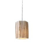 "Modern Organics Collection 1-Light 7"" Mini Pendant with Bamboo Stems 19061/1"