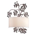 "Winterberry Collection 2-Light 22"" Antique Darkwood finish Wall Sconce 20058/2"