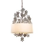 "Winterberry Collection 4-Light 37"" Antique Darkwood finish Chandelier 20059/4"