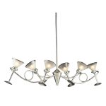 3654/6 - Martini Glass Collection Island/Billard Light SKU# 452641