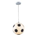 "Kid's Lighting Novelty Collection 1-Light 11"" Soccer Ball Pendant 5123/1"