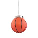 "Kid's Lighting Novelty Collection 1-Light 9"" Basketball Pendant 5137/1"