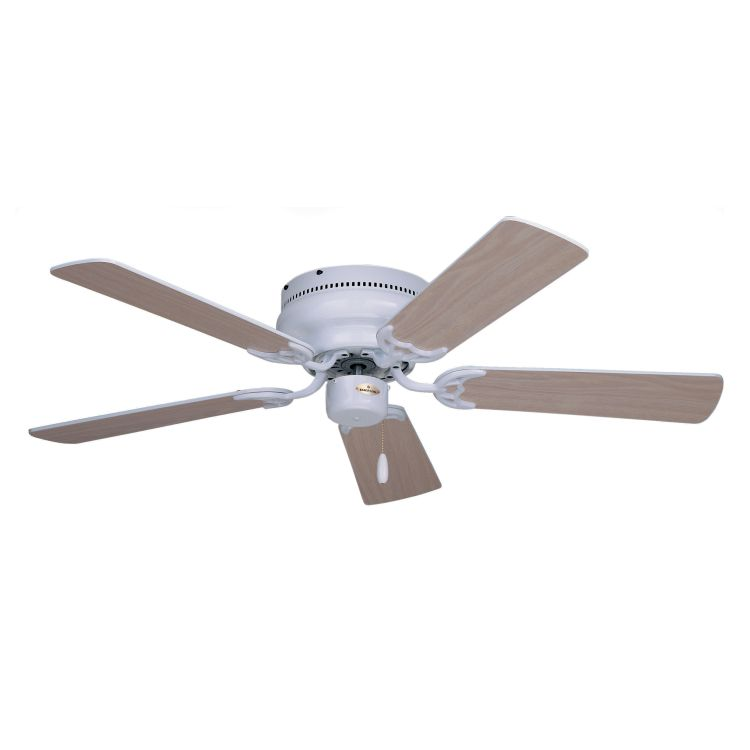 "Snugger Collection 42"" Appliance White Ceiling Fan With"
