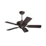 "Carrera Veranda Collection 42"" Oil Rubbed Bronze Ceiling Fan with Oil Rubbed Bronze Blades CF542ORB"