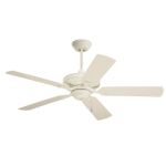 "Carrera Veranda Collection 52"" Summer White Ceiling Fan with All-Weather Summer White Blades CF552AW"