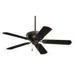 "Devonshire Collection 52"" Oil Rubbed Bronze Ceiling Fan with All Weather Oil Rubbed Bronze Blades CF670ORB"