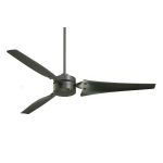 "Loft Collection 60"" Barbeque Black Ceiling Fan with Barbeque Black Blades CF765BQ"