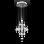 "Bubbles Collection 15"" 12-Light Crystal Ceiling Lamp EL-10078"