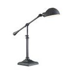 "Stedman Collection 24"" 1-Light Dark Bronze Table Lamp EL-30046"