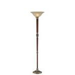 "Keyshawn Collection 69"" 1-Light Aged Bronze Floor Lamp EL-90041"