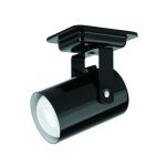 "Mini Spot Collection 1-Light 4"" Black Metal Pin-Up-Lite Accent Lamp LS-117 BLK"