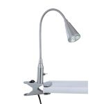 "Maxx Collection 3-Light 19"" Polished Steel LED Desk Lamp LS-21565PS"