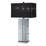 "Dario Collection 28"" 1-Light Mirror Table Lamp LS-21986"