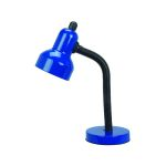 "Goosy Collection 15"" 1-Light Blue Desk Lamp LSF-211BLU"