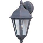 "Westlake Collection 1-Light 15"" Rust Patina Outdoor Wall Light with Clear Glass 1000RP"
