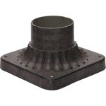 "Outdoor Essentials Collection 6"" Earth Tone Outdoor Pier Mount 2001ET"