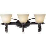 "Infinity Collection 3-Light 24"" Oil Rubbed Bronze Vanity with Wilshire Glass 21313WSOI"