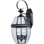 "South Park Collection 3-Light 19"" Burnished Outdoor Wall Light with Clear Glass 4191CLBU"