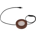 CounterMax Collection 1-Light Anodized Bronze Under Cabinet Disc with Frosted Glass 53860BRZ