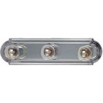 "Essentials Collection 3-Light 18"" Satin Nickel Vanity 7123SN"