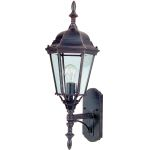 "Westlake Collection 1-Light 24"" Rust Patina Outdoor Wall Light with Frosted Glass 85103RP"