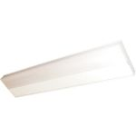 CounterMax Collection 1-Light White Under Cabinet Light with White Glass 87805WT