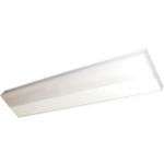 CounterMax Collection 1-Light White Under Cabinet Light with White Glass 87806WT