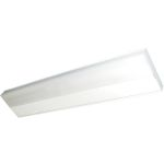 CounterMax Collection 1-Light White Under Cabinet Light with White Glass 87807WT