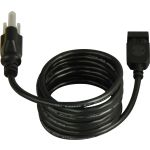 "CounterMax Collection Black MX4 72"" Power Cord 87880BK"