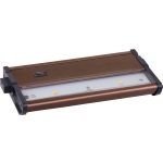 CounterMax Collection 2-Light Metallic Bronze Under Cabinet Light with Clear Glass 89922MB