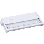 CounterMax Collection 2-Light White Under Cabinet Light with Clear Glass 89922WT